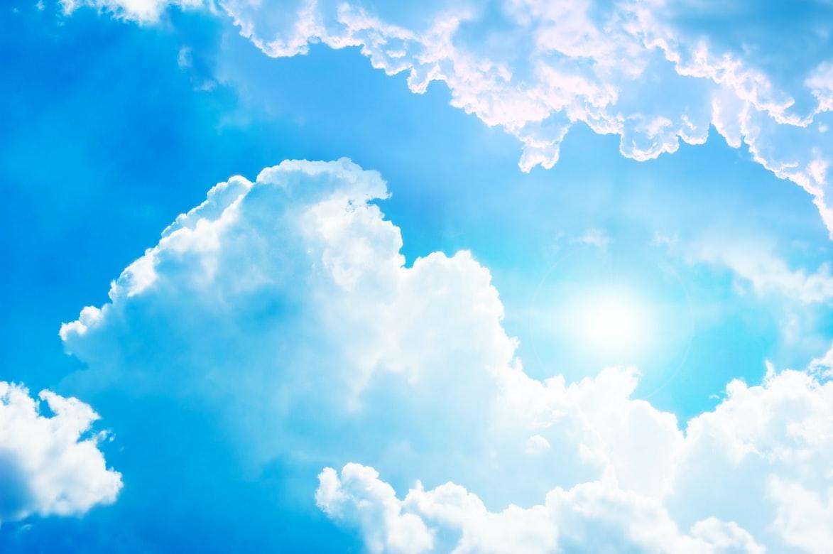 Himmel und Sonnenschein